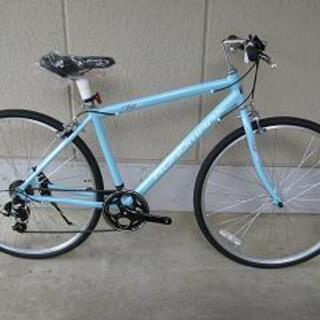〔新品〕アルミフレームクロスバイク(シマノ製7段変速・700-3...