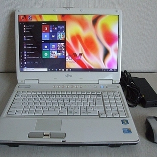 高速SSD240GB搭載 Fujitsu FMV-BIBLO N...