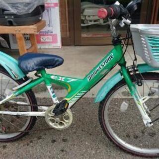 ブリジストンの自転車 22インチ
