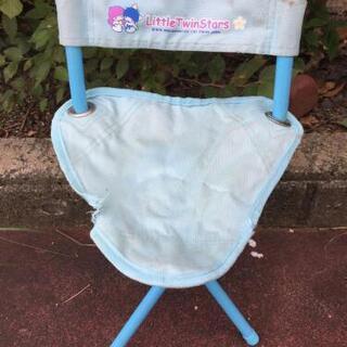 【レア】キキララ 折り畳み椅子 値下げ