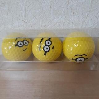 minion㊶ ゴルフボール3個セット
