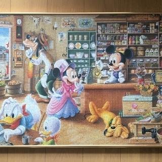 ディズニー★1000ピースパズル+フレーム