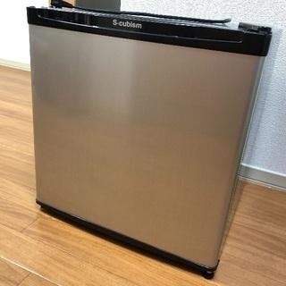 エスキュービズム 1ドア冷蔵庫 2017年製 WR-1046SL