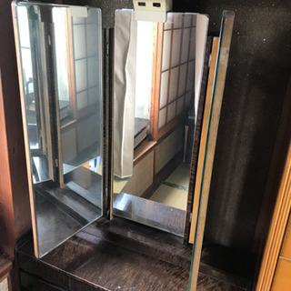 三面鏡ドレッサー