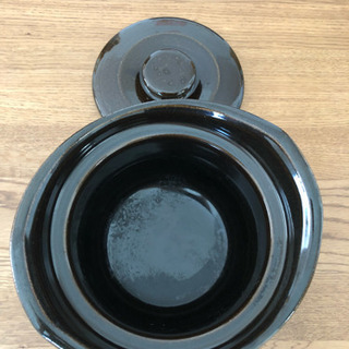無印良品 土釜おこげ 3合炊き 約直径22×高さ15cm