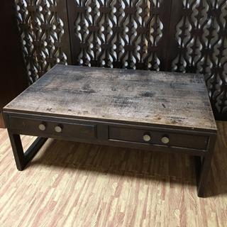 昭和初期机 美品 座卓 机