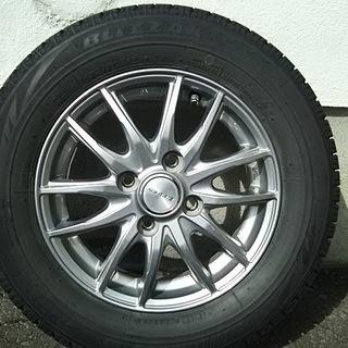 155/70R13 VRXスタッドレスタイヤアルミホイールセット