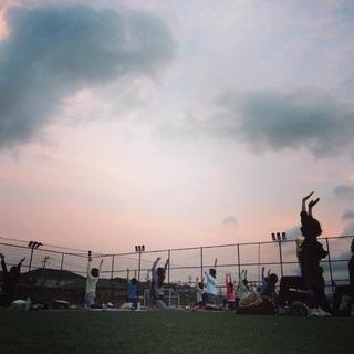 9/22(日)  ジョイフィールドにて夕涼みリラックス外ヨ…