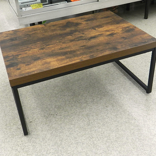 ローテーブル センターテーブル インダストリアル調 幅80cm