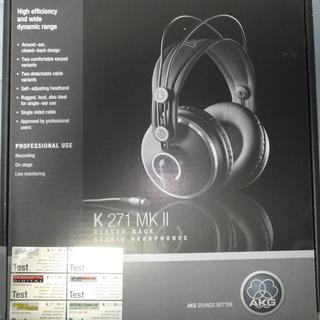 モニターヘッドフォン AKG K271 MK2 メーカー保証期間中