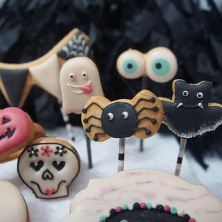 ハロウィン★アイシングクッキーレッスン  - 料理