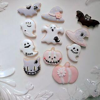 ハロウィンのアイシングクッキー作りましょう❣