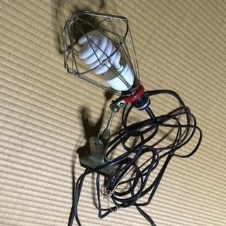 投光器 蛍光灯 スタンドライト