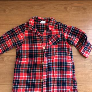 BREEZE80センチのシャツワンピ