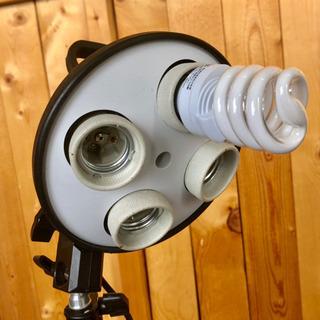 小物撮影用カメラライト 三脚
