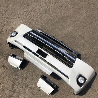トヨタ ハイエース 200 4型 フロントバンパー メッキグリル...