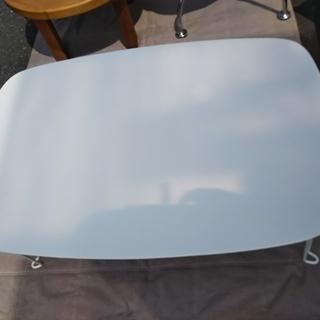 [鏡面加工テーブル]白⁑リサイクルショップヘルプ