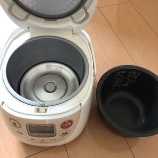 炊飯器 3合炊き - 相模原市