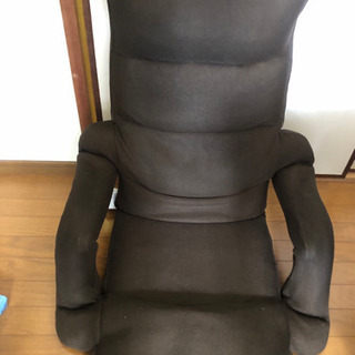 低反発肘つき座椅子