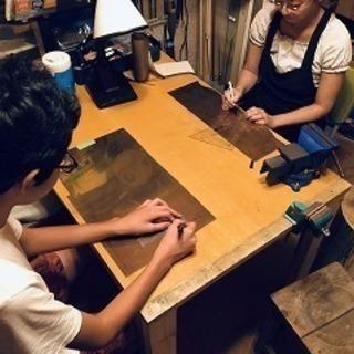 2019秋 真鍮アクセサリーワークショップ 10/19