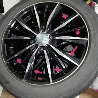 WEDS レオニスvx 16インチ ホイール タイヤ付き 4H ...