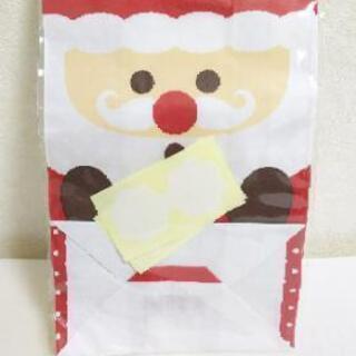 サンタ紙袋