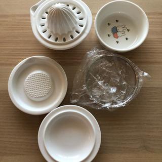 ミッフィー 離乳食調理セット 可愛い 陶磁器製 レア スタッキング可