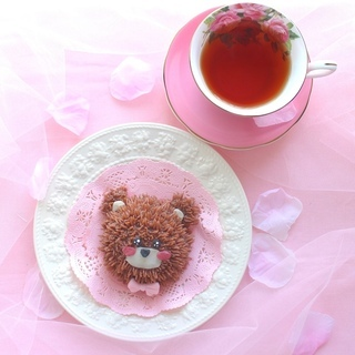 くまちゃんケーキを作ろうʕ•ᴥ•ʔパーティーデコレーションケーキ - 大阪市