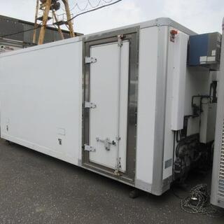 冷凍車 ボデー 2t 箱 コンテナ 物置 DYI 倉庫 トラック...