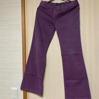 ビブロス イタリアブランド パンツ レディース ズボン 紫