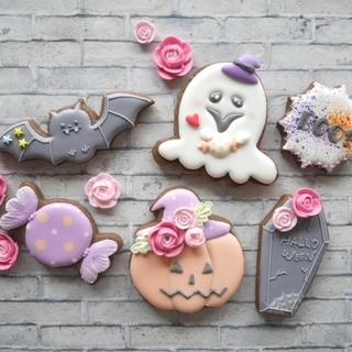 【10月1Day】 アイシングクッキー ハロウィンレッスン♡