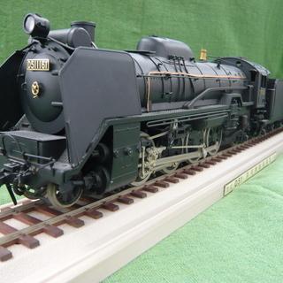 D51 蒸気機関車 1/42 金属製 模型 札幌 西岡
