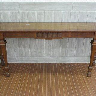 ss0259 木製 カウンターテーブル 飾り台 ブラウン 天然木...