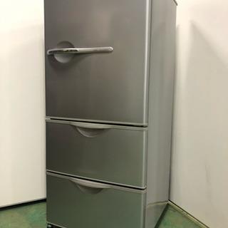 上に電子レンジを置いて使える3ドア冷蔵庫! SANYO 255L...