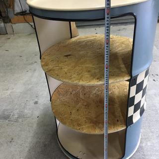 ドラム缶シェルフ - 売ります・あげます