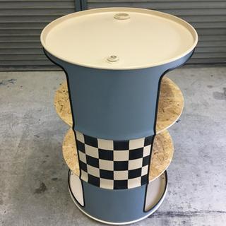 ドラム缶シェルフ - 家具