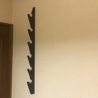 壁掛けロッドホルダー