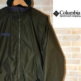 【90s】古着 Columbia コロンビア ナイロンジャケット