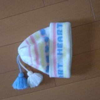 女の子毛糸帽子
