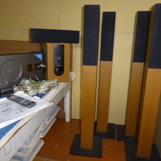 シャープ5.1チャンネルシアター一式、SD-PX3(スピーカー・...