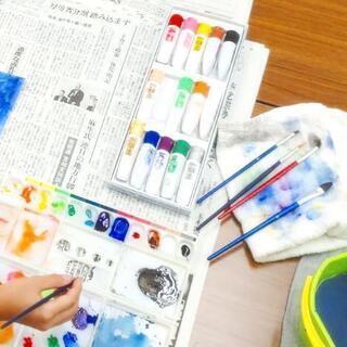 9月 ☆ こども美術教室 ☆小さな生き物の世界☆