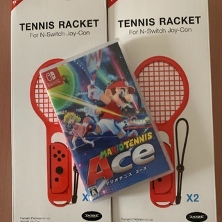 ニンテンドースイッチ テニスエース・ラケット4本