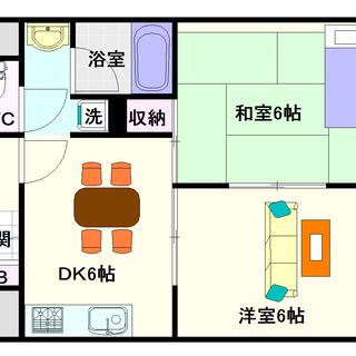 【マンションタワーサイド】2号タイプ!2DKタイプ!コスパ最高の賃料☆