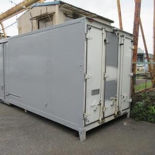 冷蔵冷凍車 ボデー 2t 箱 コンテナ 物置 DIY 倉庫 トラ...