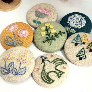 暮しの中の刺繍教室