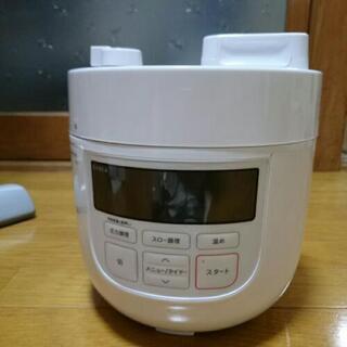 最終値下げ!Siroca シロカ 電気圧力鍋 1回のみ使用美品