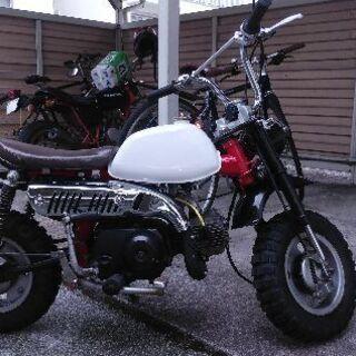 4Lモンキー風バイク(中華フレーム)値下げ