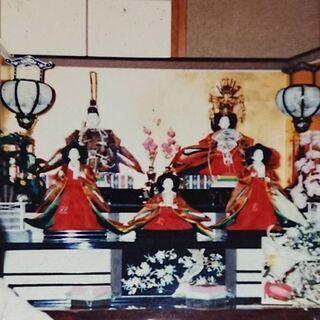 雛人形2段飾り。