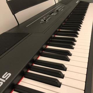 Alesis 88鍵盤 電子ピアノ Recital Pro フッ...