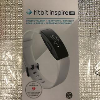 fitbit inspire HR 白(新品未使用)
